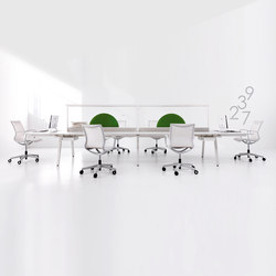 STILO desk | Table dividers | IVM