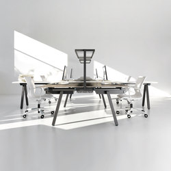 Stilo desk | Tischpaneele | IVM