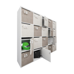 STILO lockers | Casiers / Vestiaires | IVM