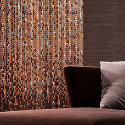 Collection Earth | Metal meshes | Kriskadecor