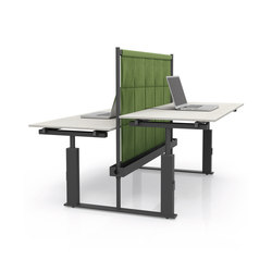 Tabula bench one click | Desking systems | IVM
