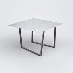 Dritto Dining Table 120 x 120 cm | Tables de repas | Salvatori
