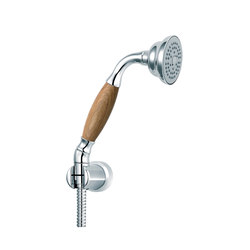 "Classic | Set handshower ""Wood"" 