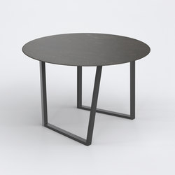 Dritto Dining Table Ø 120 cm | Tables de repas | Salvatori