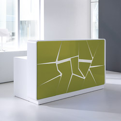 Arctic Summer | Reception desks | MDD