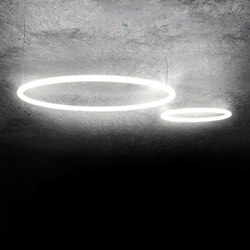 Alphabet of light Circular 90, 155 | Suspended lights | Artemide Architectural