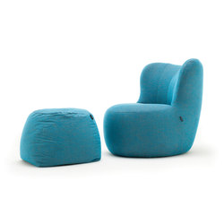 freistil 173 | Lounge chairs con poggiapiedi | freistil