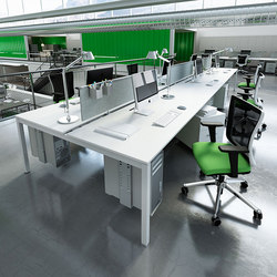 KS Light desk | Desking systems | IVM