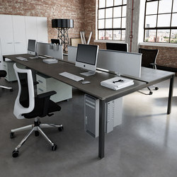 KS LIGHT desk | Table dividers | IVM