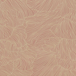 Wallpaper Coral - Dusty Rose/Beige | Wall coverings / wallpapers | ferm LIVING