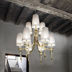MAJESTIC CHANDELIER | Suspended lights | ITALAMP