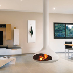Ergofocus White | Wood fireplaces | Focus