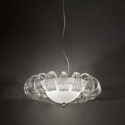 81-65 3C CHANDELIER | Suspended lights | ITALAMP