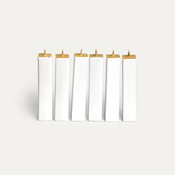 Quadro White L | Candles / Candle holders | HANDS ON DESIGN