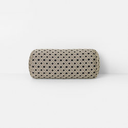 Salon Mosaic Sand Bolster Cushion | Coussins | ferm LIVING