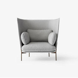 Cloud High Back One Seater LN5 | Fauteuils d'attente | &TRADITION