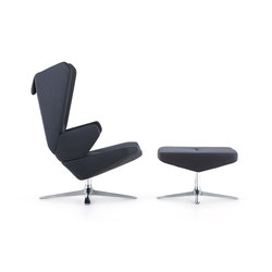 Trifidae lounge chair | ottoman | Lounge chairs | Prostoria