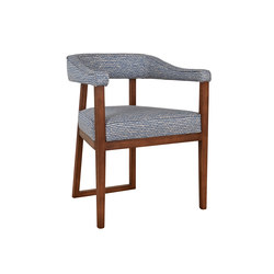 Clarke Dining Chair | Sillas | Harris & Harris