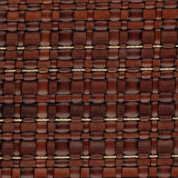 Scris Cm 135 | Woven Leather And Copper | Metal weaves / meshs | MD – OXILLA