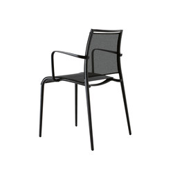 Sand Light chair with armrests | Canteen chairs | Desalto
