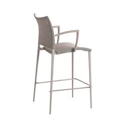 Sand Air barstool with armrest | Bar stools | Desalto