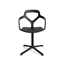 Trace chair | Visitors chairs / Side chairs | Desalto