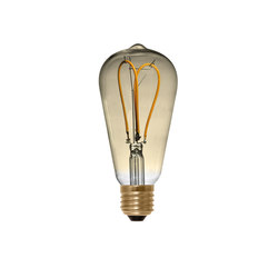 LED Rustica Curved Loop golden | Light bulbs | Segula
