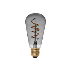 LED Rustica Curved Spiral grey | Light bulbs | Segula
