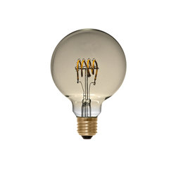 LED Globe 95 Curved golden | Ampoules | Segula