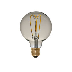 LED Globe 125 Curved golden | Ampoules | Segula