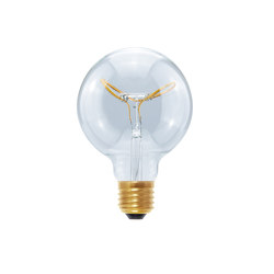 LED Globe 95 Curved Butterfly clear | Light bulbs | Segula
