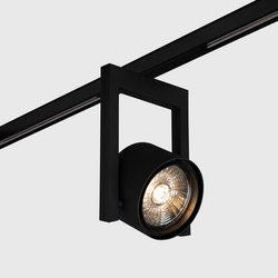 Diapason 120 on-track black | Spots de plafond | Kreon