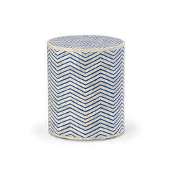 Agra Bone Inlay Side Table | Side tables | Pfeifer Studio