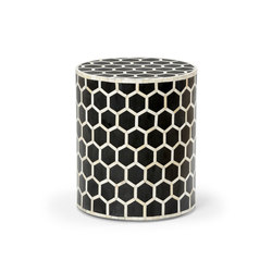 Versova Bone Inlay Side Table | Side tables | Pfeifer Studio