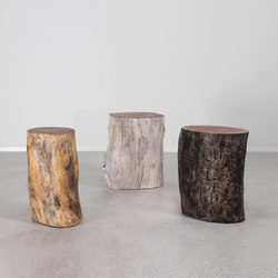 Margo Grande Outdoor Log Tables | Tables d'appoint | Pfeifer Studio