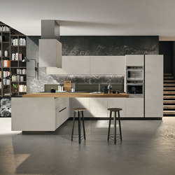 Way | resina cenere | Fitted kitchens | Snaidero USA