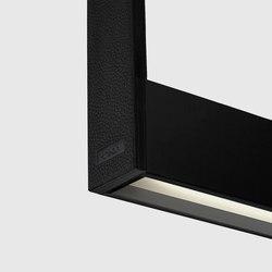 Cadre 1500 linear, black | Lampade sospensione | Kreon