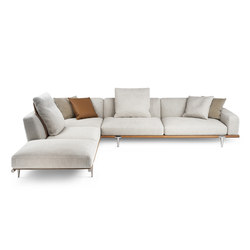 Let it Be | Modular sofa systems | Poltrona Frau