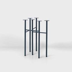 Mingle Trestles W48 - Dk Blue (Set of 2) | Tischgestelle | ferm LIVING