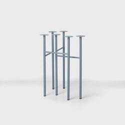 Mingle Trestles W48 - Du Blue (Set of 2) | Tischgestelle | ferm LIVING