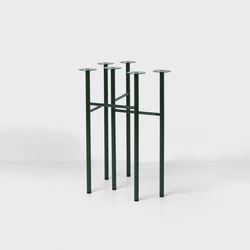 Mingle Trestles W48 - Green (Set of 2) | Trestles | ferm LIVING