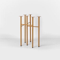 Mingle Trestles W48 - Ochre (Set of 2) | Trestles | ferm LIVING