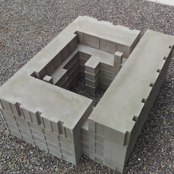 dade Architecture models | Concrete | Dade Design AG concrete works Beton