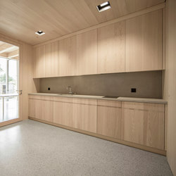 Concrete Kitchen | Concrete panels | Dade Design AG concrete works Beton