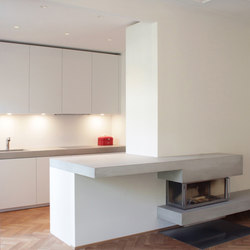 Concrete Kitchen | Design Example | Pannelli cemento | Dade Design AG concrete works Beton