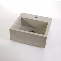 dade CASSA 40m concrete sink | Wash basins | Dade Design AG concrete works Beton
