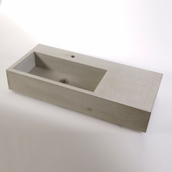 dade CASSA 90m concrete sink | Wash basins | Dade Design AG concrete works Beton