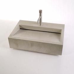 Cuneo Concrete Sink 60m | Lavabos | Dade Design AG concrete works Beton