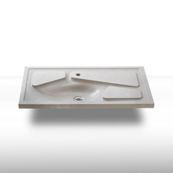 dade PANDORA concrete sink | Wash basins | Dade Design AG concrete works Beton