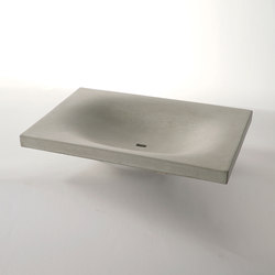 dade WAVE concrete sink | Wash basins | Dade Design AG concrete works Beton